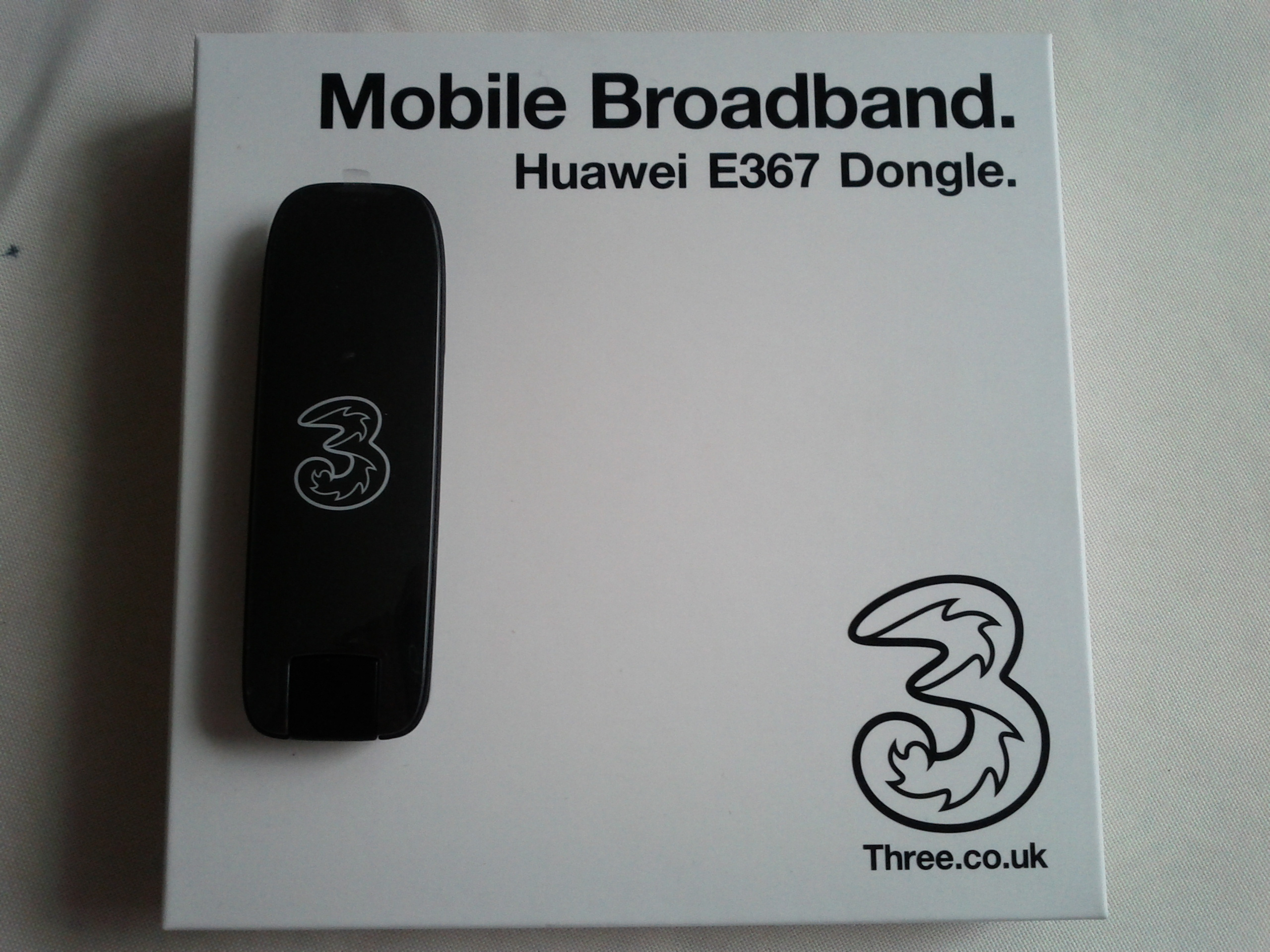 Three's Mobile Broadband – Huawei E367 Dongle | technoratia