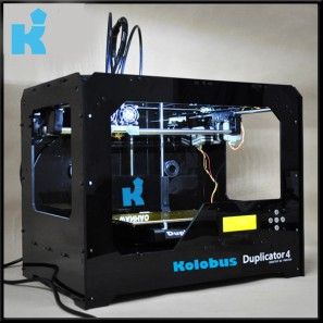 A typical 3D printer